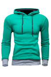 Best Deal Men S Casual Slim Fit Sweatshirt Hoodie Coat Hooded Jacket Overcoat Green