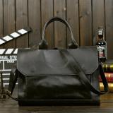 Get Cheap Men S Classic Multifunctional Large Capacity Leather Casual Business Bag Black Intl
