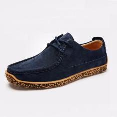 The Cheapest Mens Derby Shoes Suede Shoes Business Casual Shoes Height Increased Lace Up Flats Suede Soft Outsole Intl Online