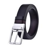 Cheap Men S Dress Top Leather Reversible Belt Classic Designs Removable Buckle Gift Box Online
