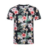 Buy Mens Fashion 3D T Shirt Hawaii Style Floral Printed Design Graphic Cotton Men S Casual T Shirt Intl China