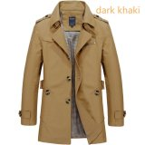 Where To Shop For Men S Fashion New Winter Jeep Casual Jacket Long Paragraph Cotton Washed Large Code Coat Khaki Intl