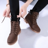 Men S Fashion Waterproof Boosts Casual Shoes Brown Free Shipping