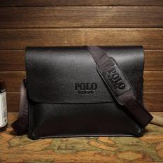 Who Sells Men S Genuine Leather Briefcase Shoulder Messenger Laptop Business Satchel Bag Color Black Intl The Cheapest