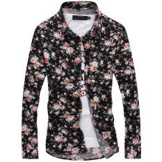 Buying Floral Print Fashion Long Sleeve Autumn Floral Print Men S Casual Shirt Men Shirts No 2 Color No 2 Color