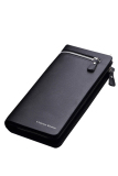 Men S Long Wallet Pockets Money Purse Id Credit Card Clutch Bifold Black In Stock