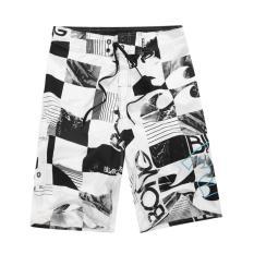 Discount Mens New Fashion Boardshorts Drawcord Dry Flight Beach Shorts Surfing Shorts Grey White Black Size S M L Xl Xxl Intl Singapore