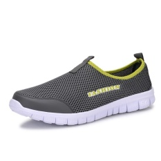 Men S Outdoor Sport Mesh Shoes Lightweight Breathable Walking Runnning Shoes Green Intl Lowest Price