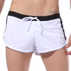 Get Cheap Mens S*Xy Underwear Mesh Shorts Boxers Underpants Breathable Briefs Wh S Intl