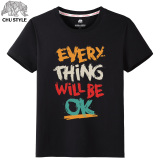 Popular Brand In Europe And America Short Sleeved Male Extra Large T Shirt Lowest Price