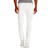 Buy Men S Skinny Fit Jeans White Intl Oem Cheap