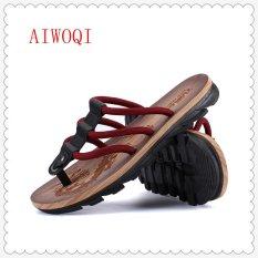 16446544581e Men s slippers Male Sandals Beach Sandals Breathable Nest Men Shoes Hole  Mesh Sandals Home Slipper SandalsAIWOQI