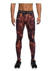 Sale Mens Sport Compression Leggings Base Layer Long Pants Camo Trousers Intl Oem Original