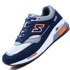 Get Cheap Youth Casual Breathable Travel Shoes Men S Sports Shoes 1500 Blue Orange