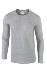 Sale Men S Ultra Cotton Long Sleeve T Shirt Grey