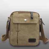 Buy Men S Vintage Canvas Multifunction Travel Satchel Messenger Shoulder Bag Intl China