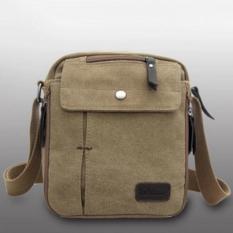 For Sale Men S Vintage Canvas Multifunction Travel Satchel Messenger Shoulder Bag Intl