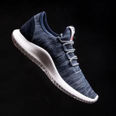 Men S Korean Style Casual Breathable Canvas Shoes Blue Blue Cheap