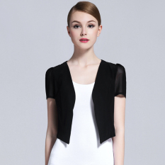 Mesh Summer Porous Small Shawl Black For Sale Online