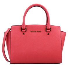 Sale Michael Kors Selma Medium Satchel Coral Reef Michael Kors Branded