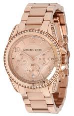 Latest Michael Kors Women S Rose Gold Stainless Steel Strap Watch Mk5263