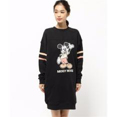 Cheaper Mickey Mouse One Piece Dress Black Color
