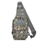 Review Military Fans Chest Bag Camouflage Multi Functional Shoulder Bag Unisex Army Camoufalge Bag 7 Colors Intl On China