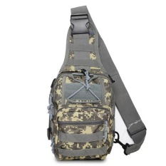 Latest Military Fans Chest Bag Camouflage Multi Functional Shoulder Bag Unisex Army Camoufalge Bag 7 Colors Intl
