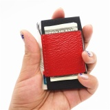 Minimalist Slim Card Holder Wallet Elastic Magic Credit Card Holders With Cash And Coins Keys Pocket Business Card Holder Purse Red Intl Best Buy