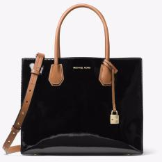 157c59d236ae31 MK Michael Kors course 2-way handbag Mercer patent leather large tote OL bag  30T7GM9T3A