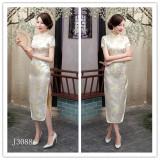 Coupon Mm Chinese Show Catwalk Banquet Cheongsam Dress Light King