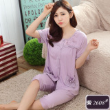 Who Sells Middle Aged Cotton Female Summer Pajama Women S Sleepwear