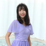 Promo Mm Thin Long Section Plus Sized Bridesmaid Dress F Paragraph Purple