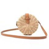 Top 10 Modern Handmade Rattan Round Handbag Eco Friendly Women Shoulder Bag Cross Body Bag Woven Beach Bag Ns0155 Intl