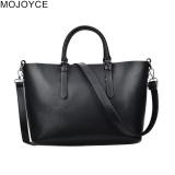 For Sale Mojoyce Women Pu Leather Simple Chic Crossbody Bag Black Intl