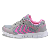 Moonar Fashion Women Casual Sports Mesh Sneakers Lace Up Track Shoes Size 36 41 Pink For Sale Online