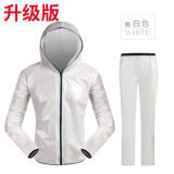 Best Price Mountain Car Single Reflective Split Electric Car Raincoat Upgraded Version Of Adhesive White Suit