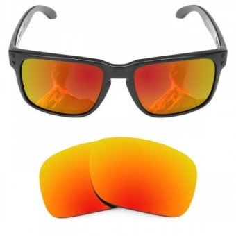 MRY POLARIZED Replacement Lenses for Holbrook Sunglasses Fire Red
