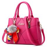 Meiyouxi Women S Messenger Shoulder Bag Scarf With Bag Rose Color Scarf With Bag Rose Color Price