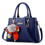 For Sale Meiyouxi Women S Messenger Shoulder Bag Scarf With Bag Sapphire Blue Color Scarf With Bag Sapphire Blue Color