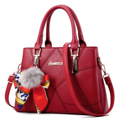 Sale Meiyouxi Women S Messenger Shoulder Bag Scarf With Bag Wine Red Color Scarf With Bag Wine Red Color Oem On China
