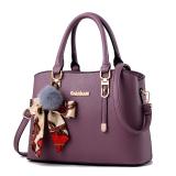 Great Deal Women S Korean Style Shoulder Crossbody Handbag Bag Purple To Send Vt Wallet Purple To Send Vt Wallet