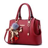 How To Get Women S Korean Style Shoulder Crossbody Handbag Bag Wine Red To Send Vt Wallet Wine Red To Send Vt Wallet