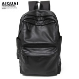 Sale Mu Casual Mens Shoulder Bag Mens Backpack Korean Version Of Studentbag Leather Fashion Trend Sports Travel Computer Bag Tide Multipocket Black Rectangle Back Breathable Mesh Large Special Intl Oem Cheap