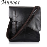 Munoor 100 Genuine Cow Leather Messenger Bags Business Bags Men Laptop Travel Holder Intl Lower Price