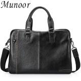 Sale Munoor High Quality Genuine Leather Men Shoulder Bags Messenger Begs Kulit Asli Tas หนังแท้ กระเป๋าผู้ชาย Tui Người Đan Ong Intl Munoor Online