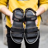Buy New 2017 Mens Sandals Genuine Leather Cowhide Sandals Outdoor Casual Men Summer Leather Shoes For Men Intl Online China
