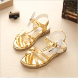 How To Get New Children Sandals Girls Princess Shoes 2017 Summer Diamond Bow Fashion Baby Girls Shoes Kids Dance Performance Single G*Rl Sandal Intl