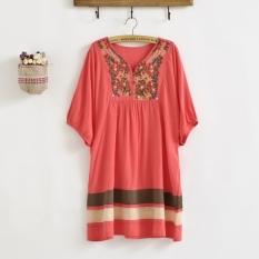 Sale New Fashion Loose Dresses Blouses Shirts Clothing Pregnant Dress Plus Size Fashion Summer Intl