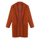 How To Buy New Fashion Winter Women S Brief Long Sleeve Coat Jackets
